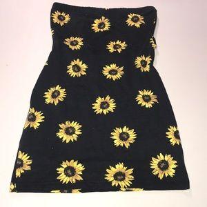 Sunflower mini dress